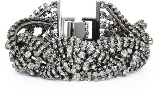 Braided Stone Chain Bracelet