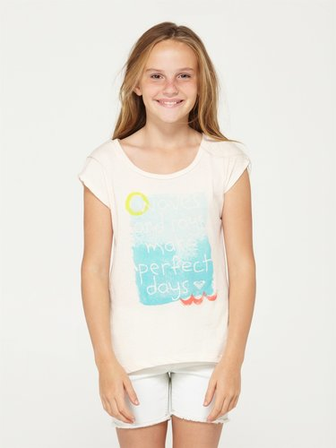 Girls 7-14 Bench Warmer Scoop Tee