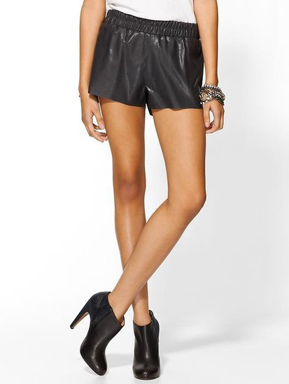 Lucca Couture Vegan Leather Shorts