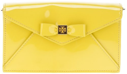 Tory Burch bow clutch