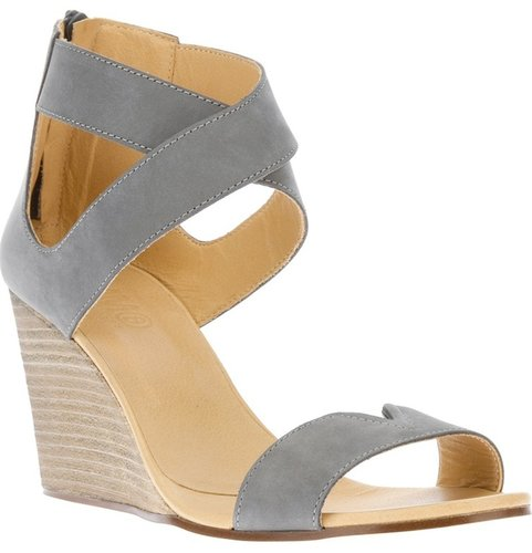 Mm6 By Maison Martin Margiela criss cross wedge sandal