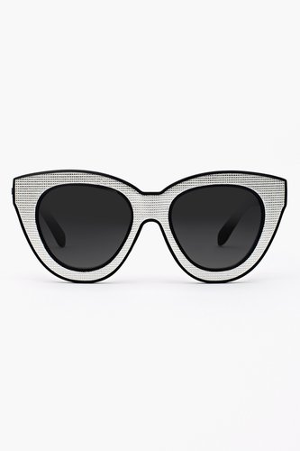 Bright Eyes Shades - White