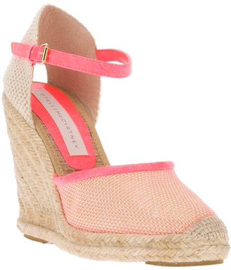 Stella Mccartney wedge sandal