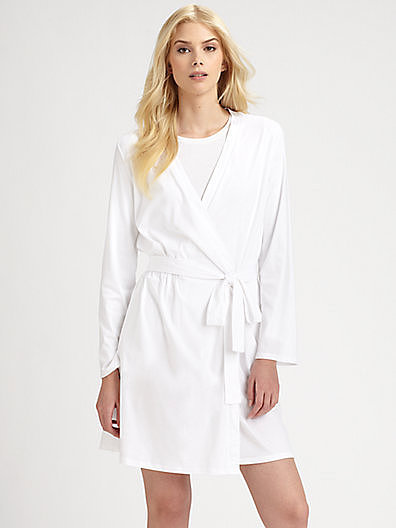 Hanro Tonight Short Wrap Robe