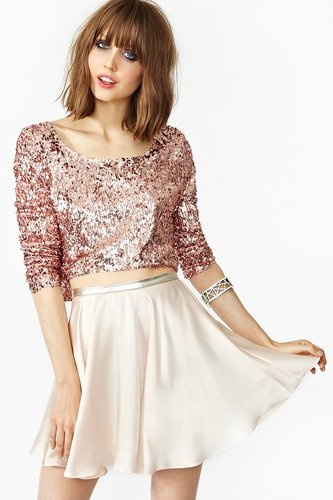 In Your Dreams Skirt - Blush
