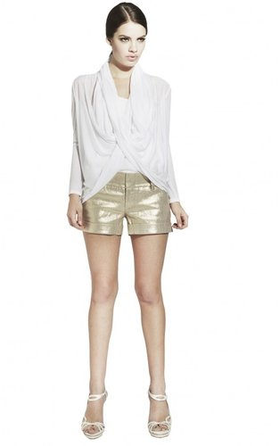 Metallic Cady Cuff Short