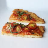 Recipe For Grain-Free Low-Carb Vegetable Pizza