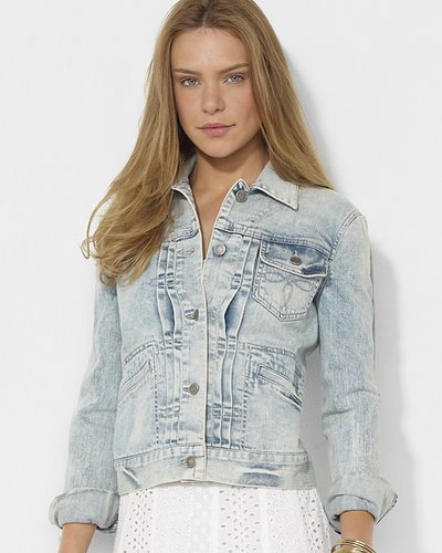 Lauren Ralph Lauren Washed Denim Jacket