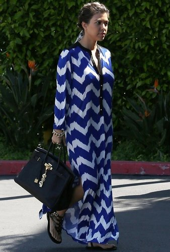 Tbags Valeria Long Dress as Seen On Kourtney Kardashian