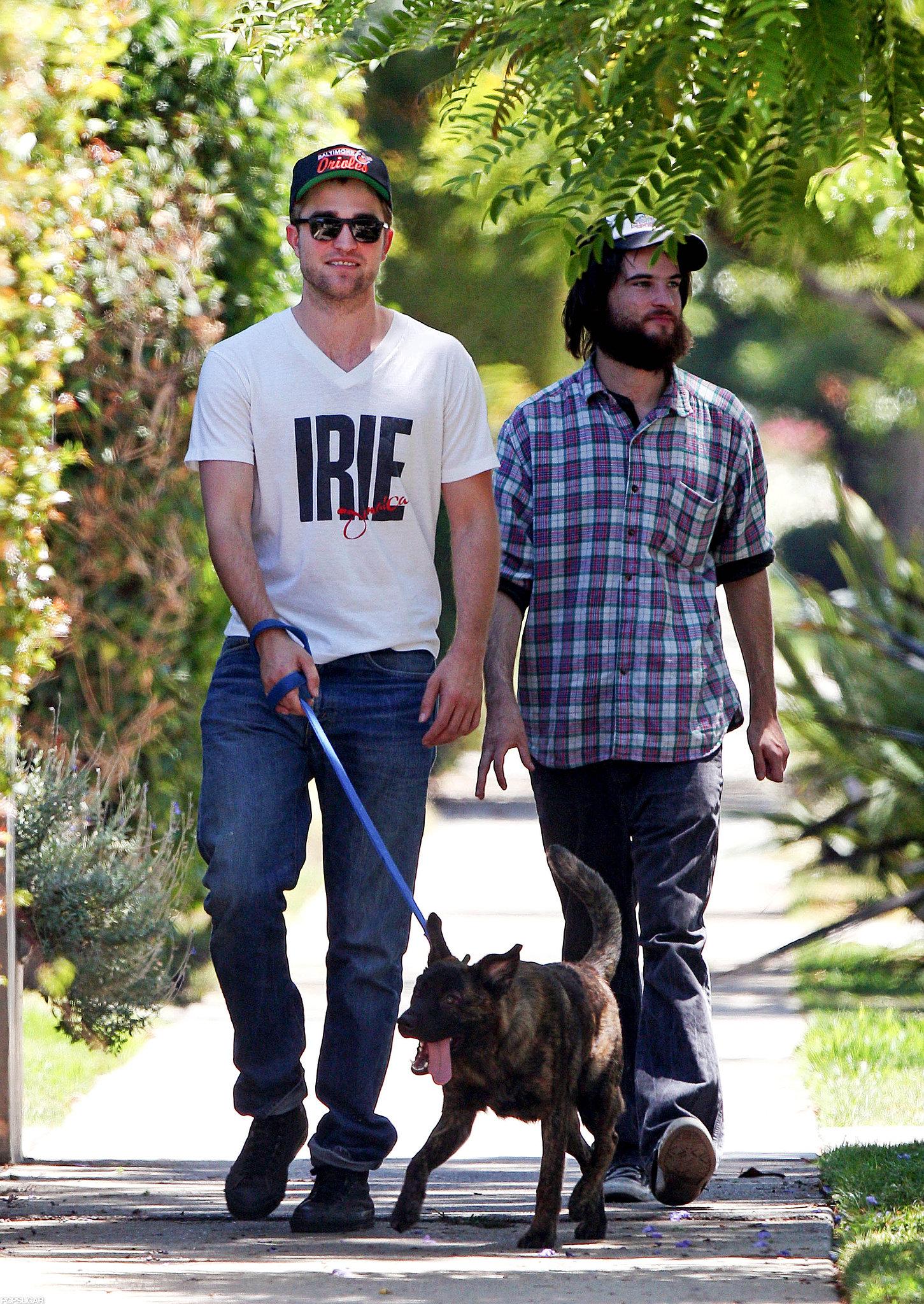 Robert Pattinson and Tom Sturridge