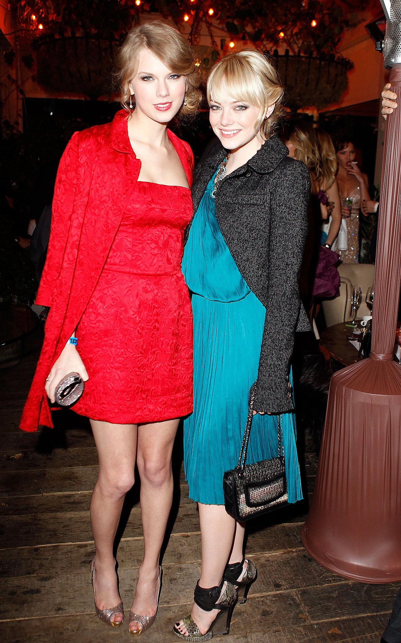 Taylor Swift and Emma Stone