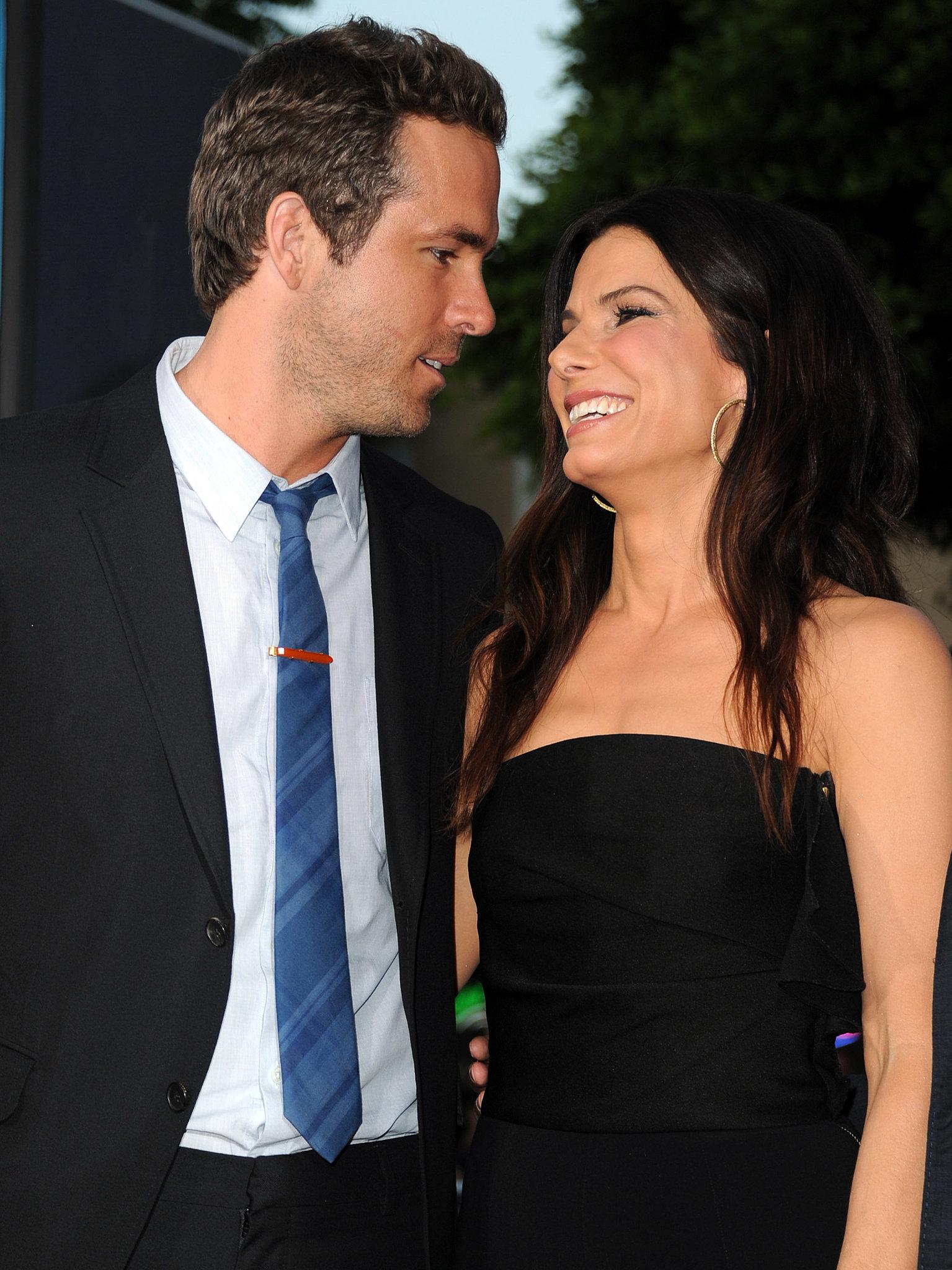 Ryan Reynolds and Sandra Bullock