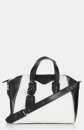 Topshop 'Evian' Satchel, Medium