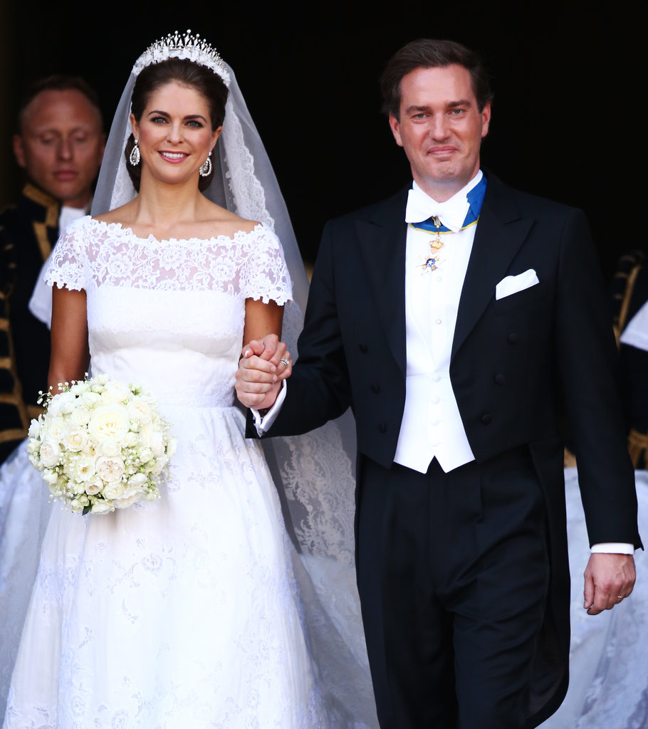 Princess Madeleine of Sweden and Christopher O'Neill wowed the crowd after their ceremony.
