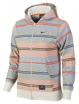 Nike Yarn-Dye Striped Zip Boys' Hoodie