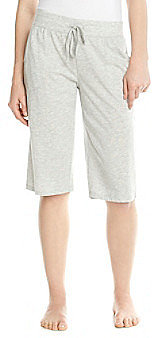 Steve Madden Knit Surf Shorts - Heather Grey