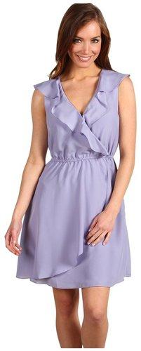 BCBGeneration - Short Ruffle Front Dress (Light Whisper) - Apparel