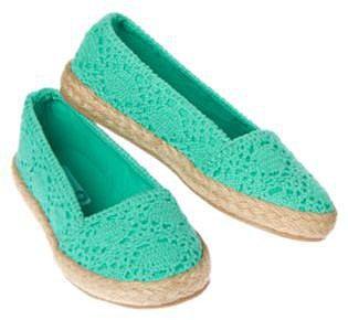 Crochet Espadrille Shoe