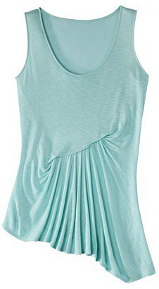 Mossimo® Women's Asymmetrical Hem Tank Top - Assorted Colors