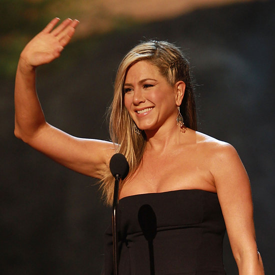 Jennifer Aniston Braided Hair at Guys Choice Awards 2013