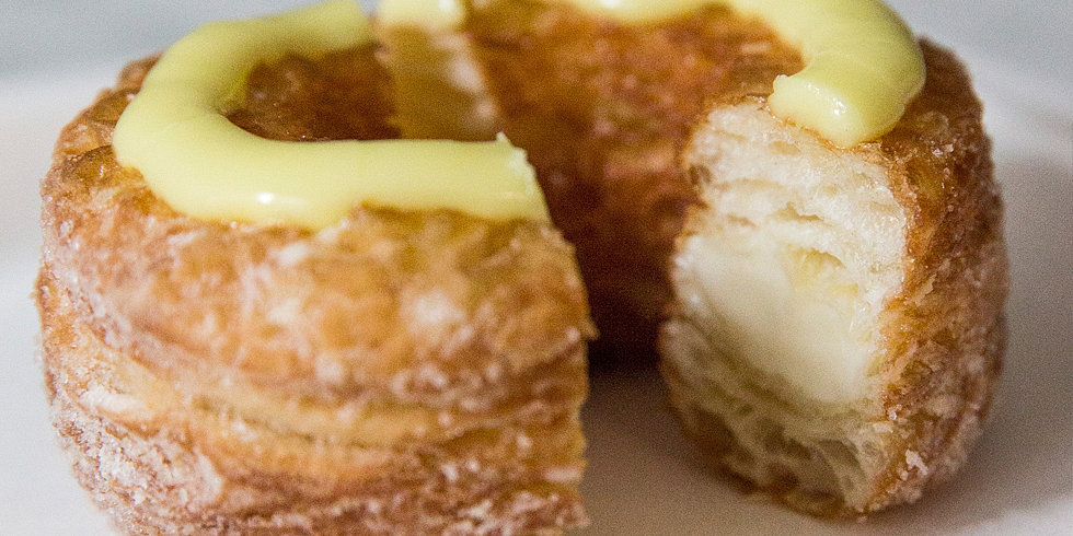 Extreme Close-Ups of a Cronut in the Making
