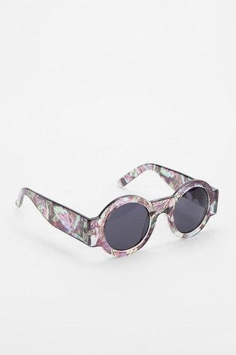 Binocular Round Sunglasses