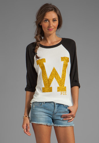 Wildfox Couture EXCLUSIVE 79 Raglan Cotton Jersey