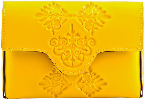 MeDusa Mini Clutch Bag - Yellow