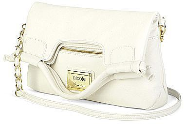 nicole by Nicole Miller® Randy Foldover Clutch
