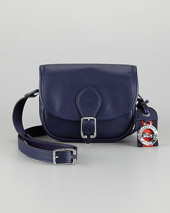 Longchamp Au Sultan Crossbody Bag, Navy