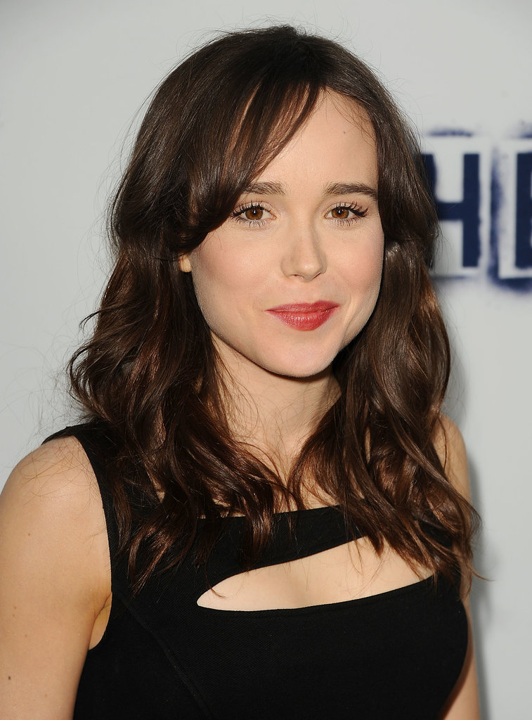 The smaller the waves, the more casual the look, as evidenced by Ellen Page's low-key style.