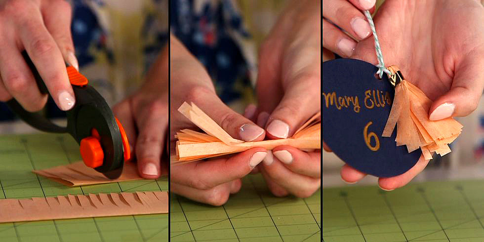 DIY Tassel Place Cards Are Fun and Easy to Make