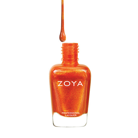 Heat up your manicure with this fiery shade of foil metallic coral. Zoya Amy ($8) is the perfect burnished shade to complement your sun-kissed glow.