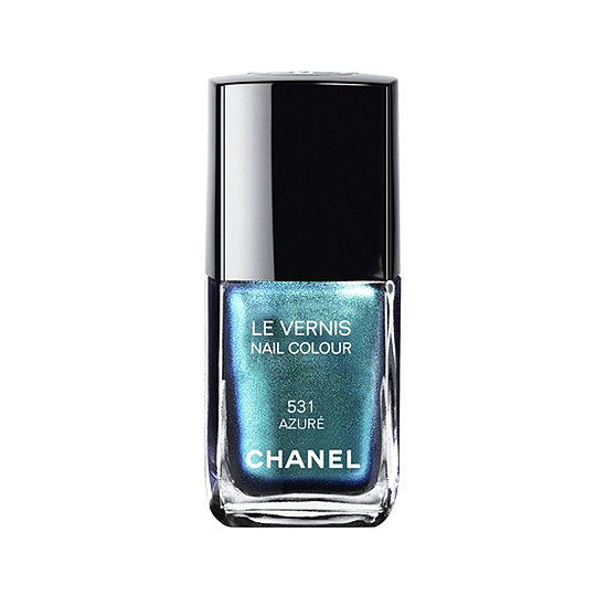 Chanel Le Vernis in Azure ($27) is an iridescent blue that's reminiscent of ocean waters.