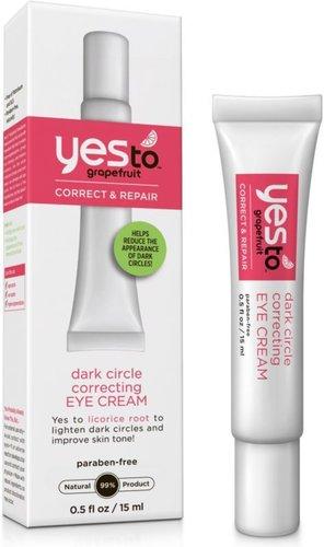 Yes to Grapefruit Correct & Repair Dark Circle Correcting Eye Cream