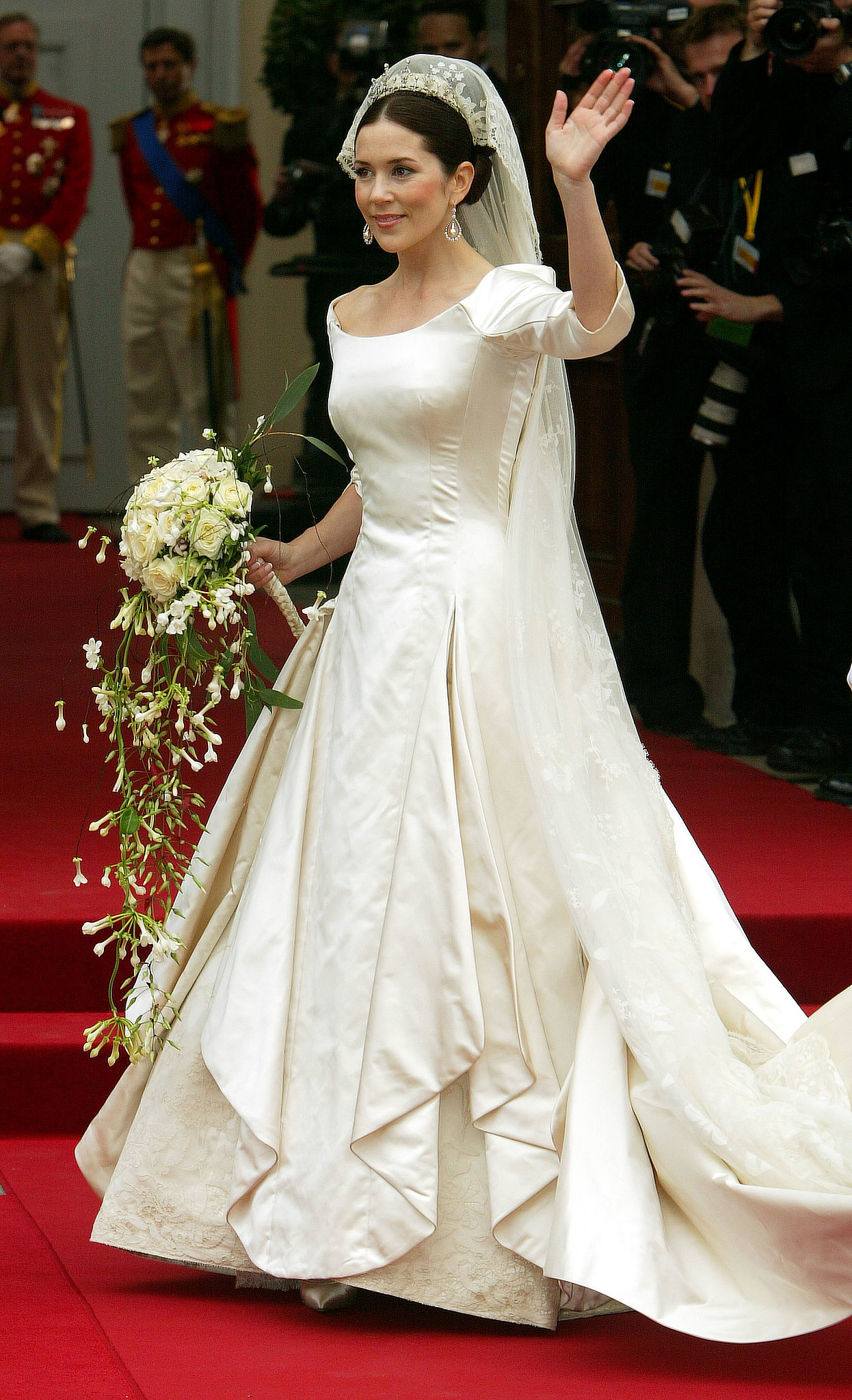 Prince Frederik and Mary Donaldson The Bride Mary