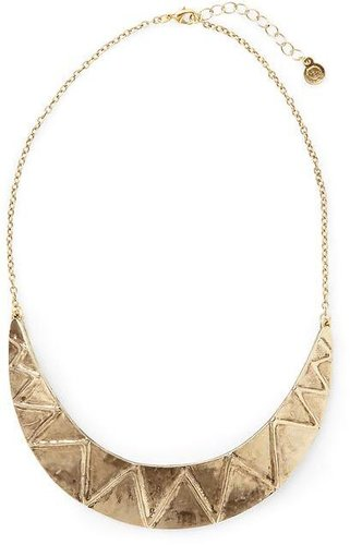 House of Harlow 1960 Zig Zag Tribal Collar Necklace