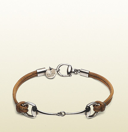 Bracelet With Horsebit Motif