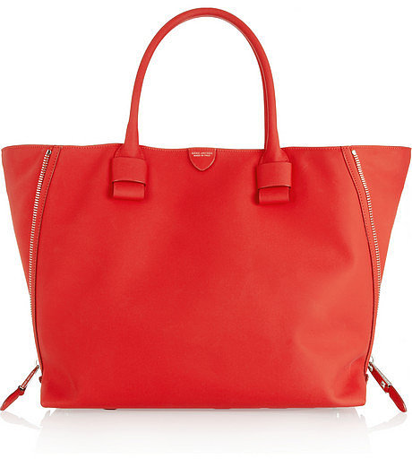 Marc Jacobs Sheila rubberized-leather shopper