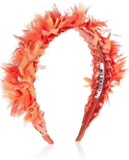 Eugenia Kim Frida sequin-embellished chiffon headband