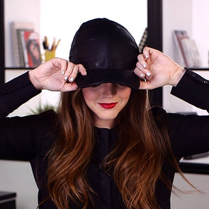 DIY Video: How To Make Your Own Leather Baseball Cap