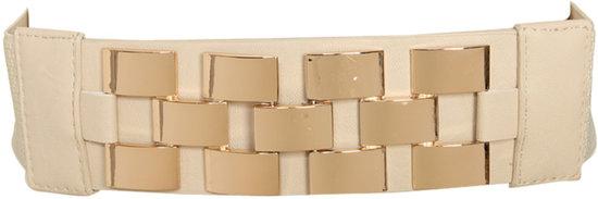 Checkered Hardware Belt