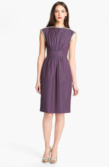 MARC BY MARC JACOBS 'Clover' Check Sheath Dress