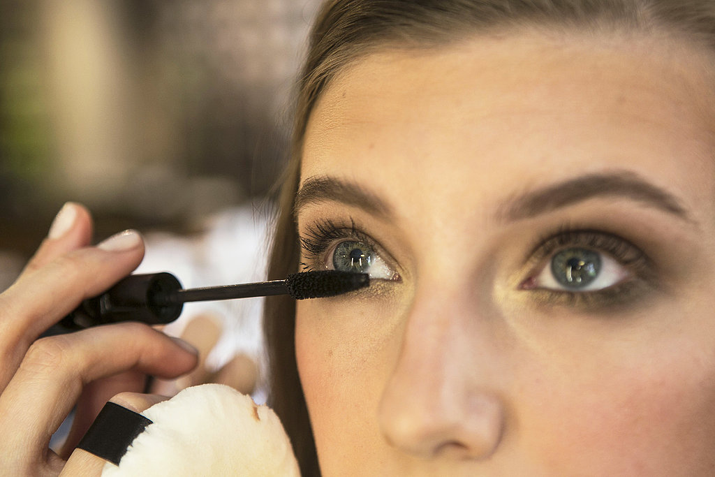Complete the palette with a hit of mascara on both the top and bottom lashes.