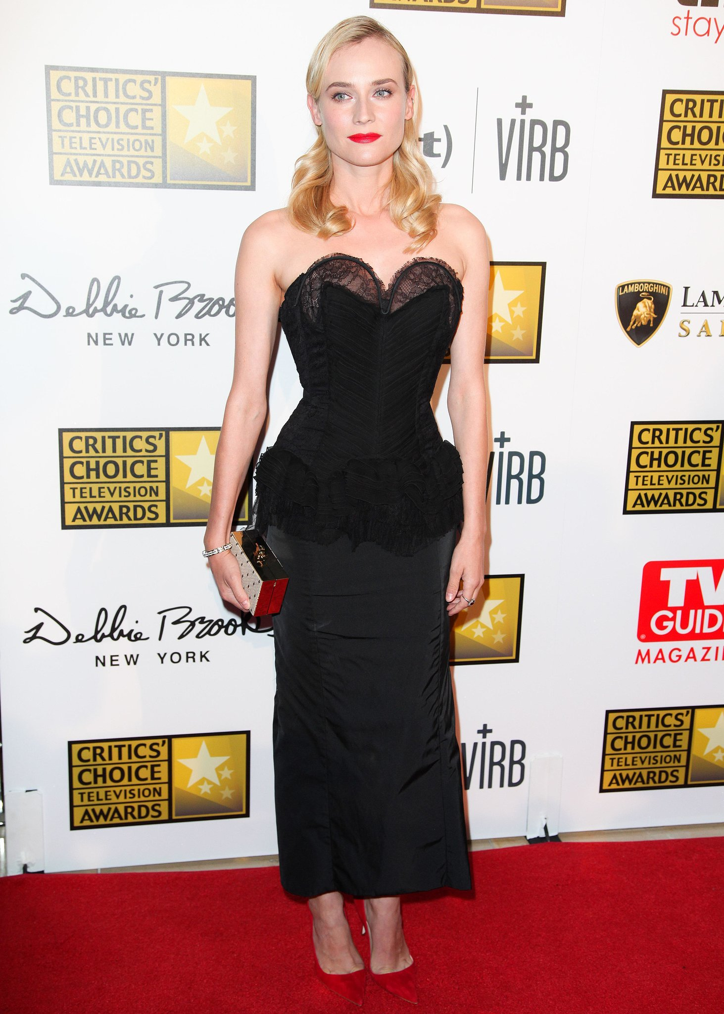 Diane Kruger at the 2013 Critics' Choice Television Awards in Los Angeles.  Source: Aleks Kocev/BFAnyc.com