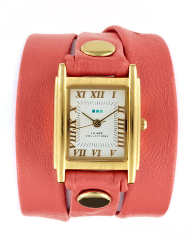 Women's Coral Multi Wrap Watch