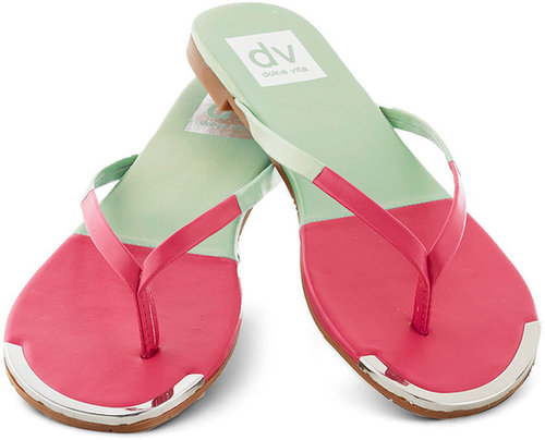 Dolce Vita Piazza Tour Sandal in Watermelon