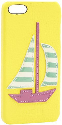 Bodhi Sailboat Leather Bumper For iPhone 5 B2716989AYAN Wallet
