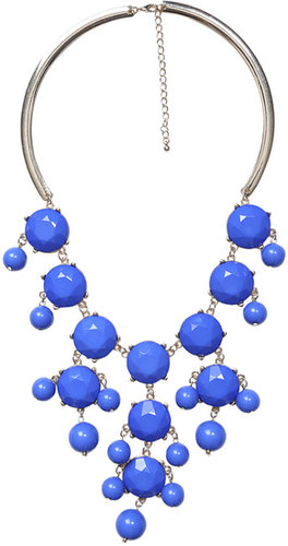 Bubble Bead Collar Necklace