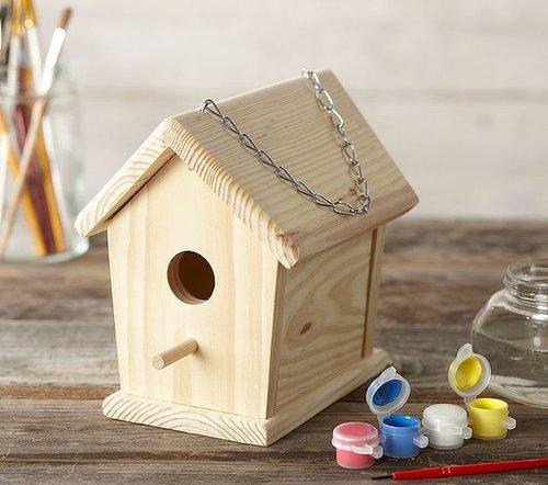 Paint a Birdhouse Kit